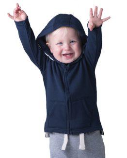 baby felpa cappuccio con stampa disegno maglia personalizzata
