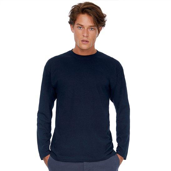 e shirt uomo personalizzata manica lunga