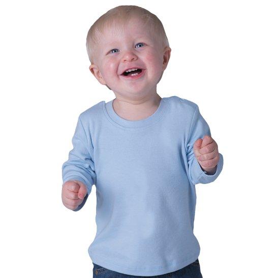 maglia bebè manicalunga con stampa inclusa personalizzata