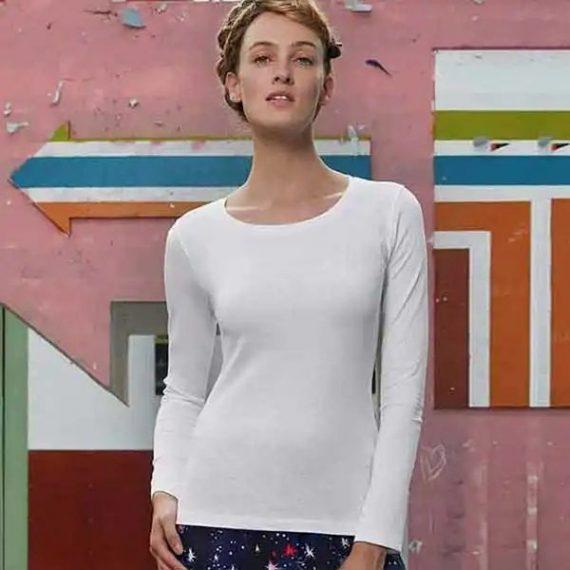 maglia personalizzata a maniche lunghe da donna