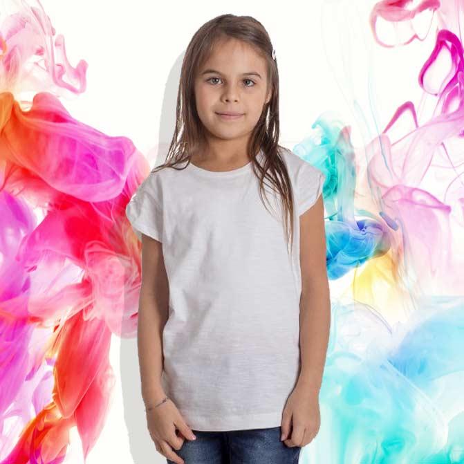 maglietta bimba personalizzata slub