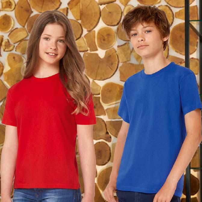 magliette bambino sportive personalizzate