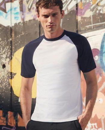 maglietta baseball uomo personalizzata