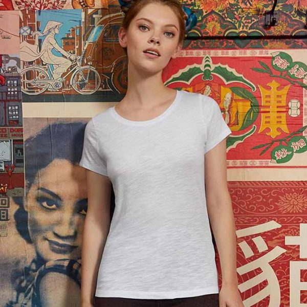 maglietta cotone donna personalizzata