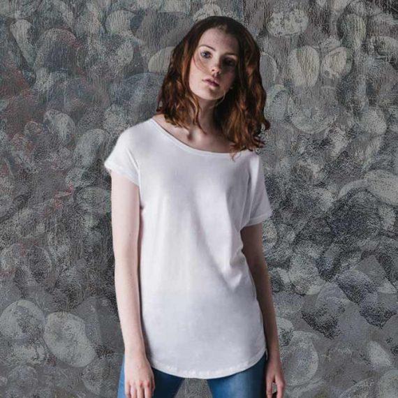 stampa su maglia da donna oversize
