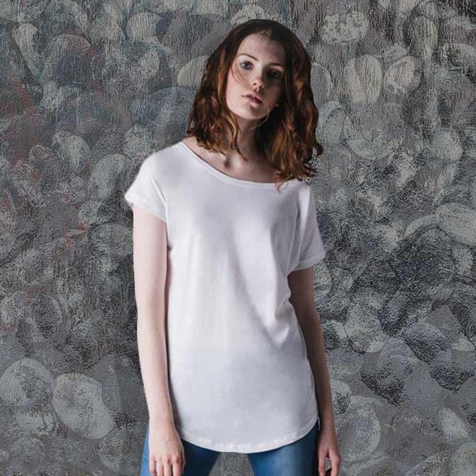 maglietta oversize personalizzata donna