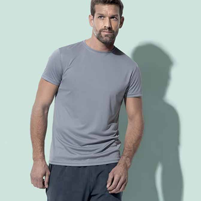 maglietta personalizzata uomo active dry sportiva