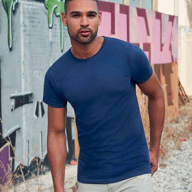 maglietta personalizzata uomo girocollo