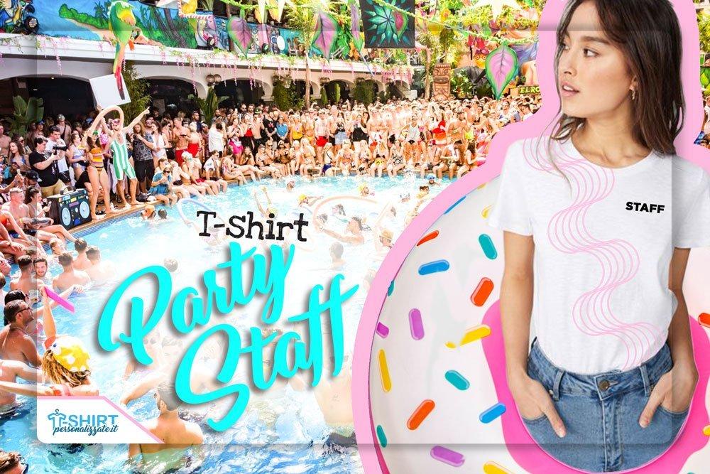 magliette personalizzate per staff