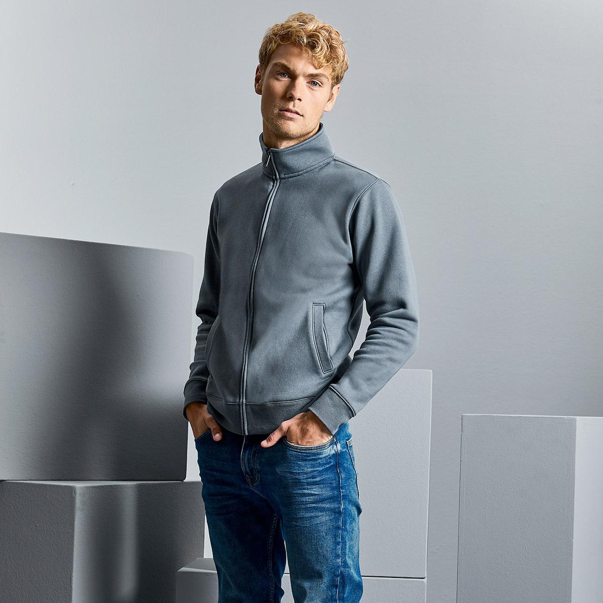 felpe zip jacket uomo personalizzate