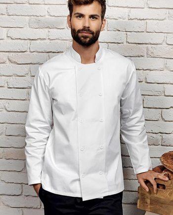 giacca cuoco personalizzata manica lunga