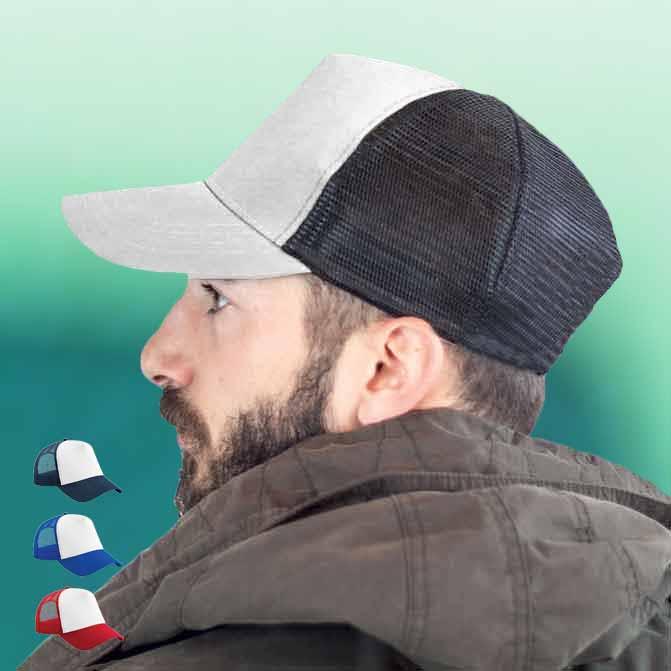 Cappellini Personalizzati Bianchi