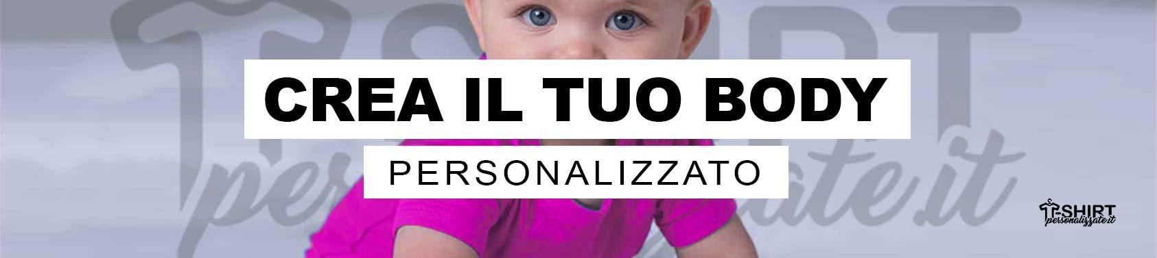 body da neonata personalizzato