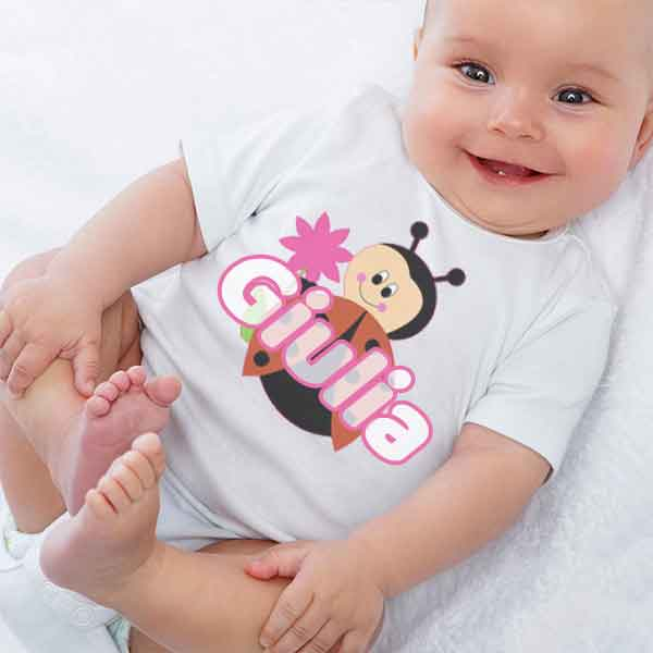 body neonata personalizzato