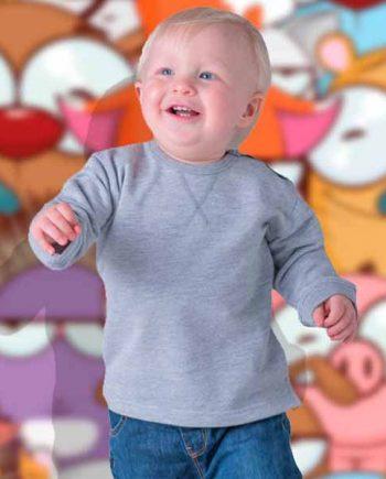 felpa personalizzata girocollo da neonato