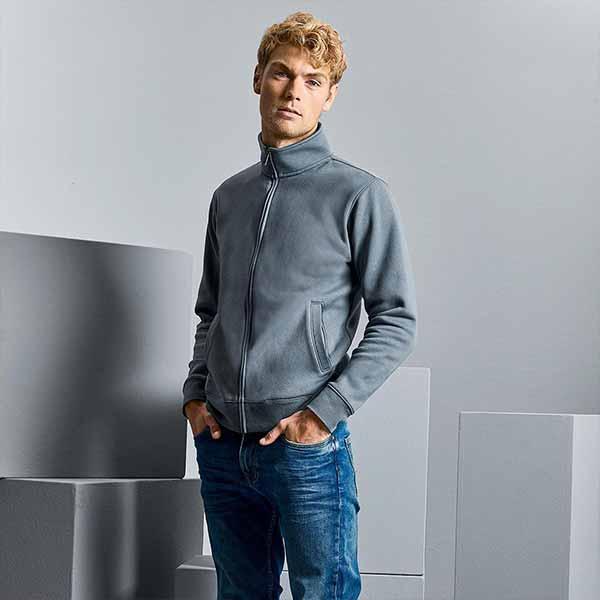 Felpa Personalizzata Zip Jacket da Uomo