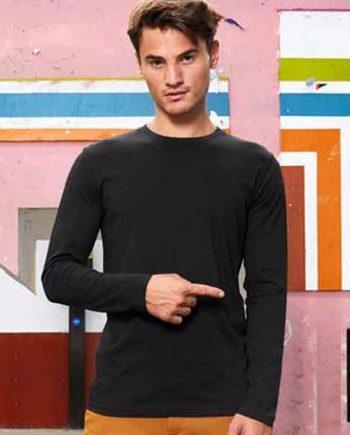maglia personalizzata a manica lunga uomo
