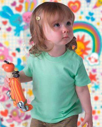 maglietta personalizzata da neonato girocollo
