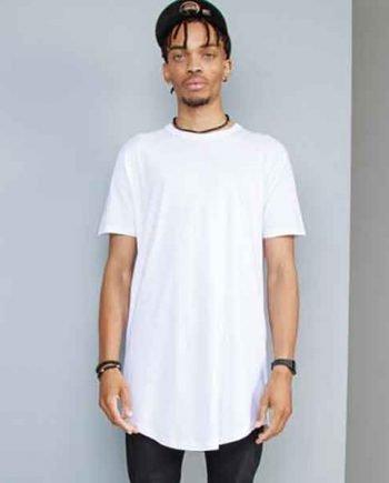 maglietta personalizzata extra long da uomo