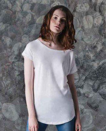 maglietta personalizzata extra long donna