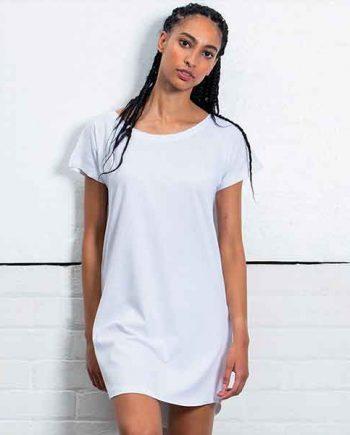 maglietta personalizzata extra lunga vestito donna