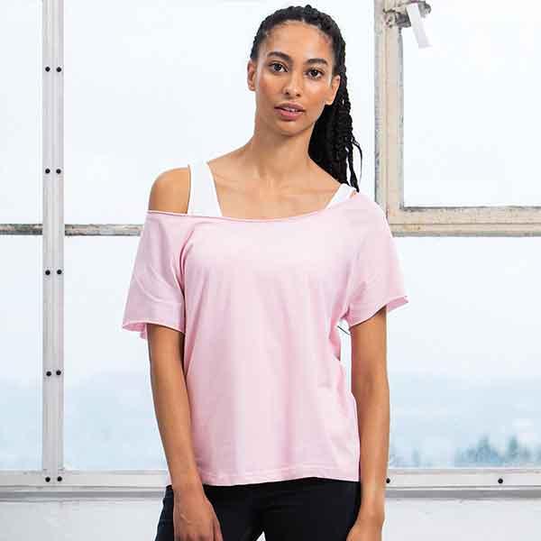 maglietta personalizzata flash dance t da donna