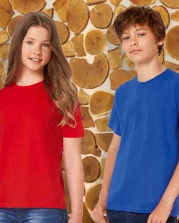 maglietta personalizzata girocollo da bambino unisex