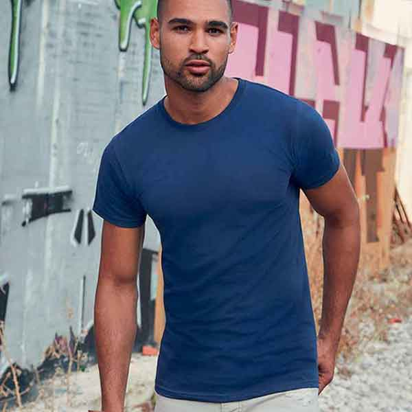 maglietta personalizzata girocollo da uomo
