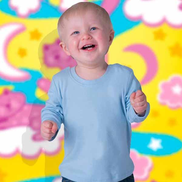Maglietta Personalizzata Manica Lunga da Neonato