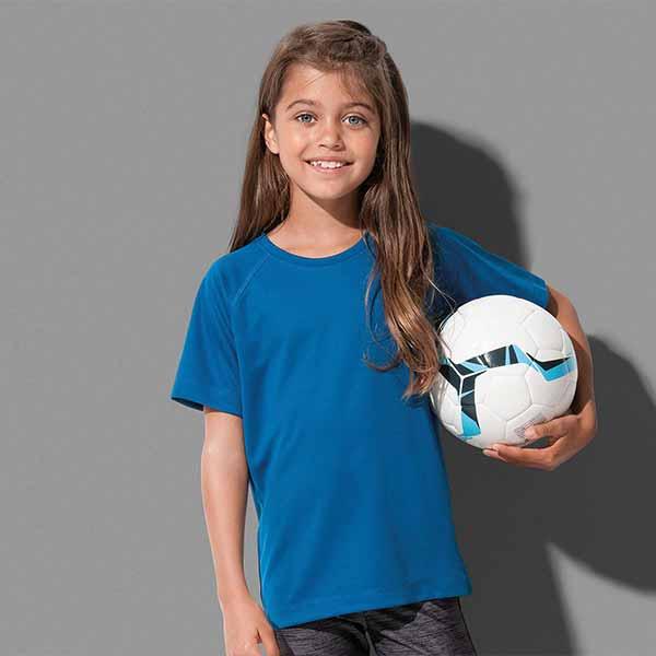 t-shirt personalizzata active dry sportiva da bambino