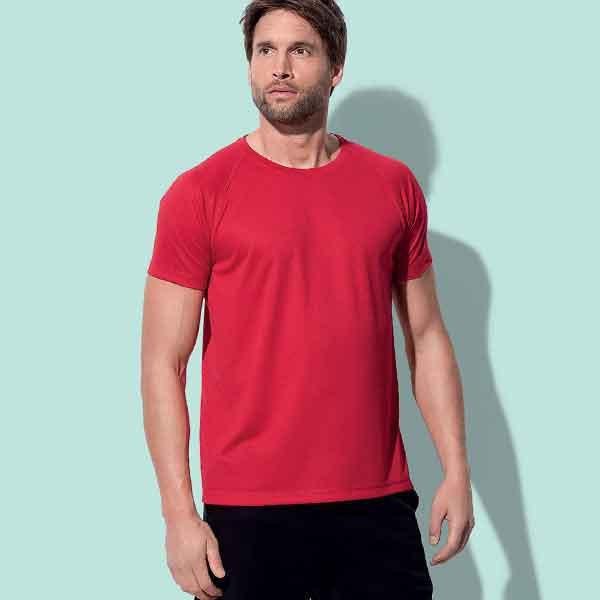 t-shirt personalizzata active dry sportiva da uomo