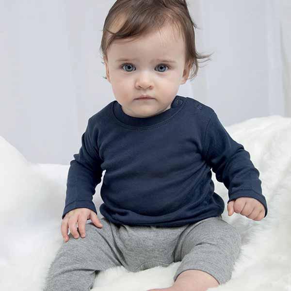 maglietta personalizzata da neonato a manica lunga