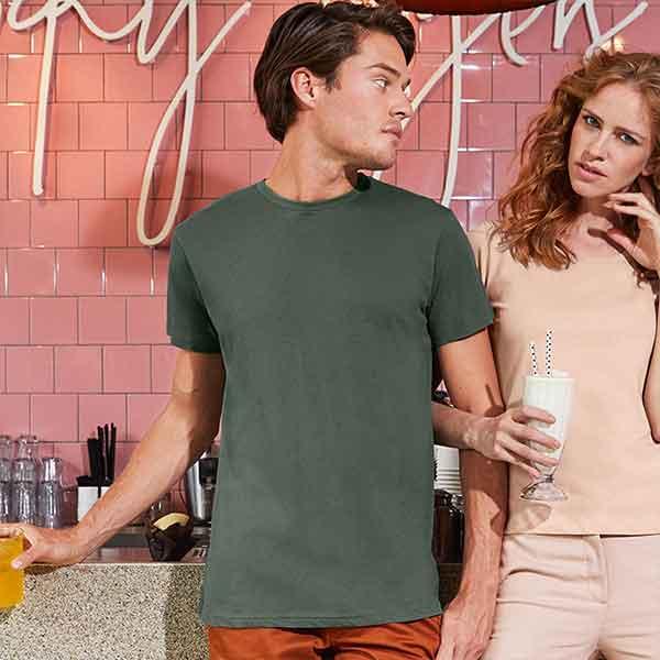 t-shirt personalizzata organica da uomo