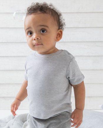 tshirt neonato personalizzata a righe